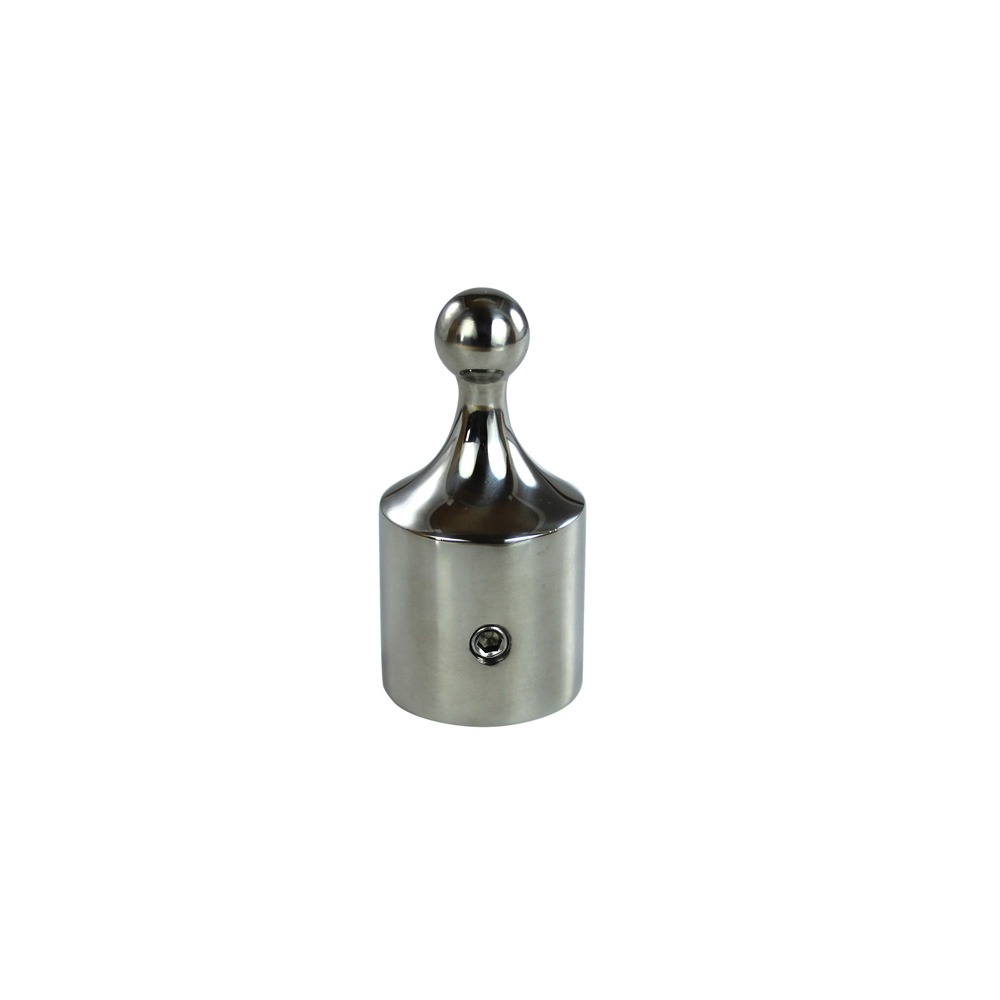 Ball Stainless Steel Top Cap With Set Screw Action