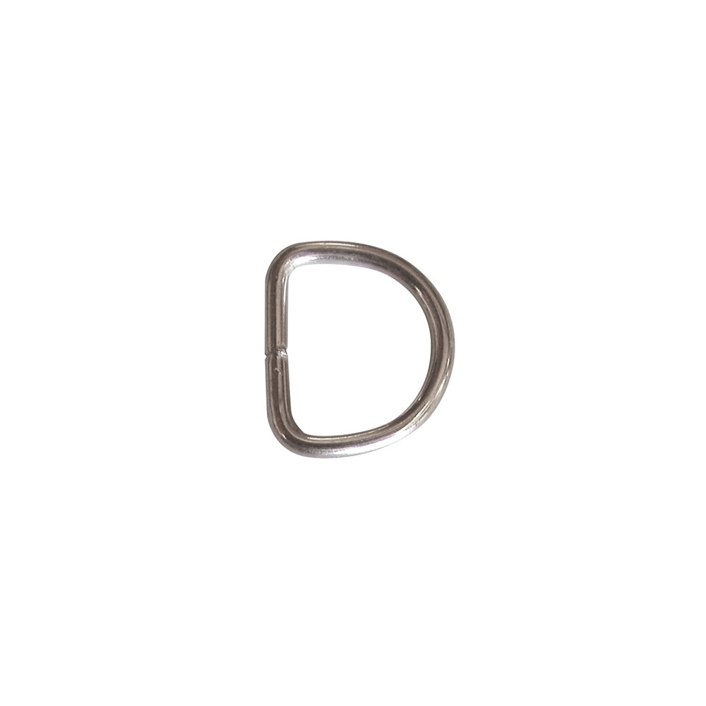 "1"" D-Ring welded stainless steel F V6715"