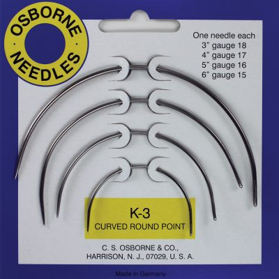 Needles - Curved Round Point NE-K3