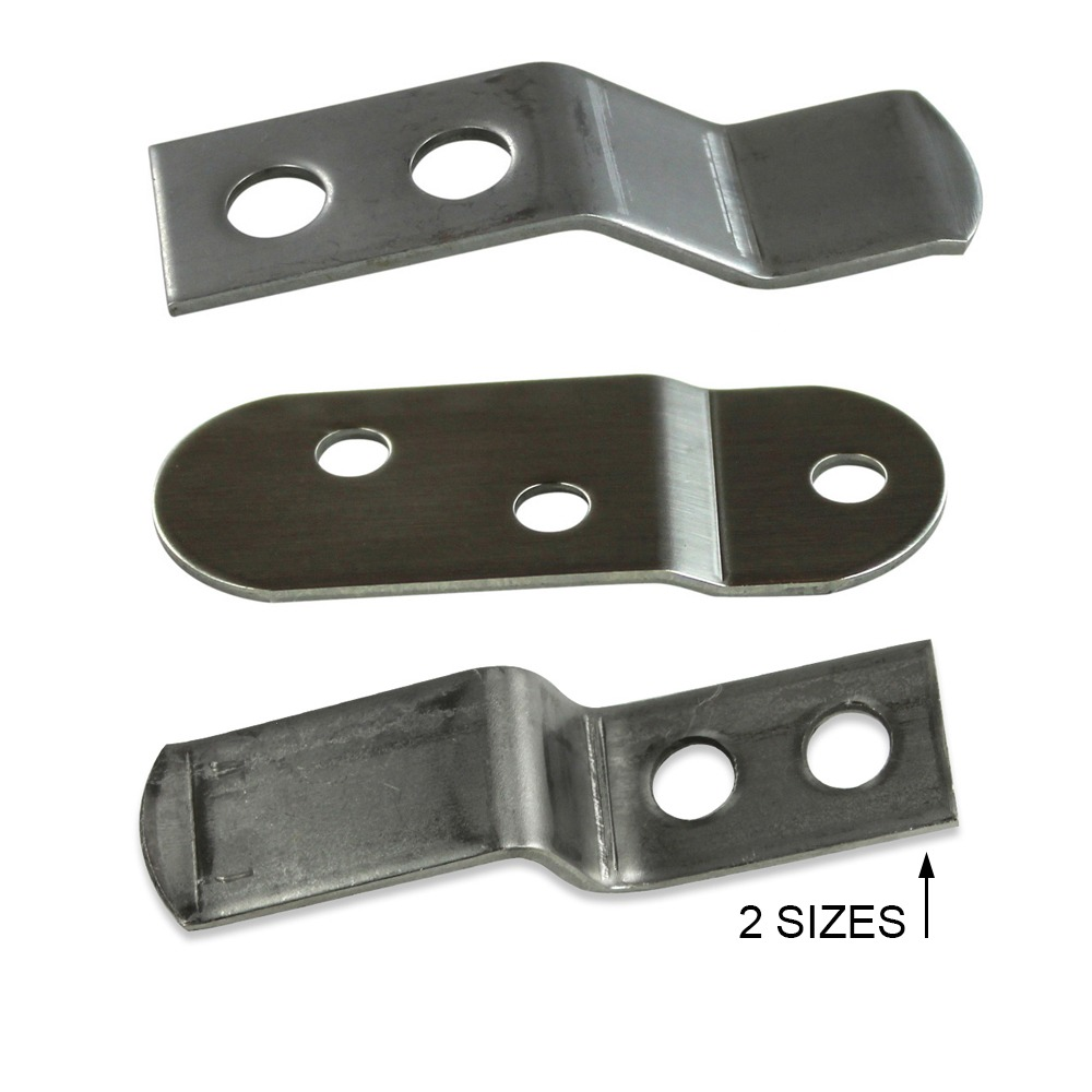 Stainless Steel Bolster Clips Action Upholstery Supply