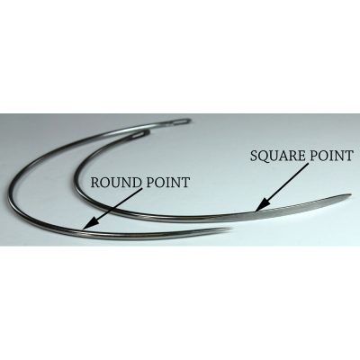 Handsewing Needles Curved Round and Square Point