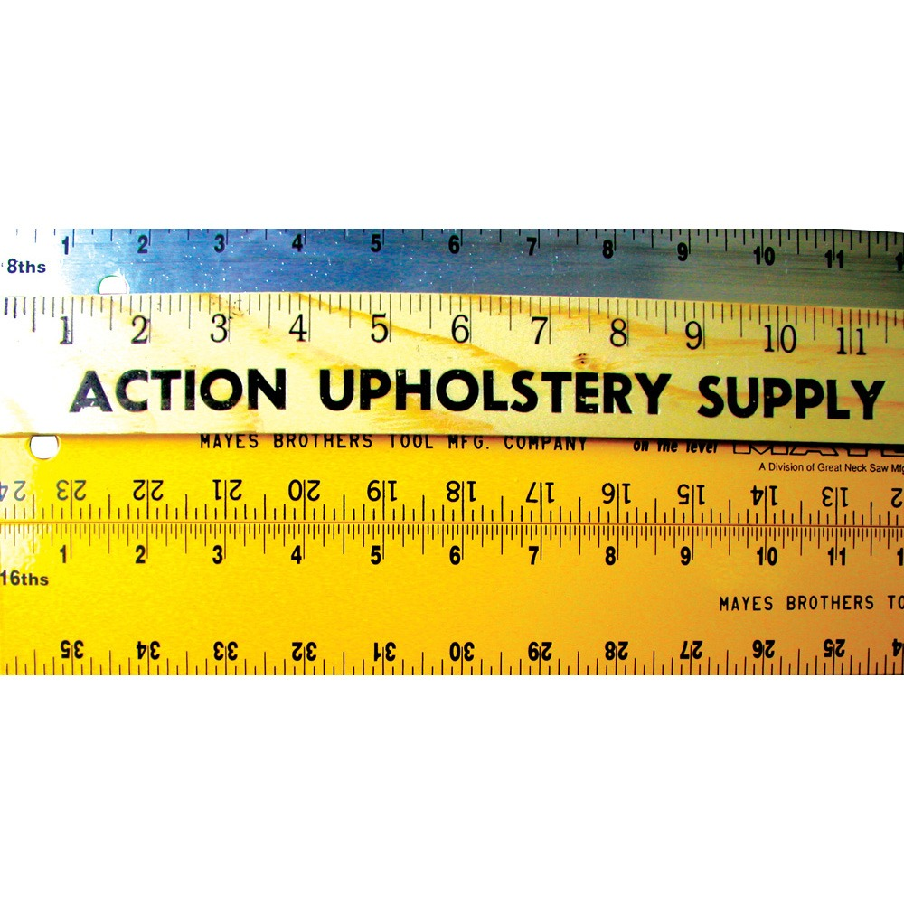 Aluminum Rulers Action Upholstery Supply