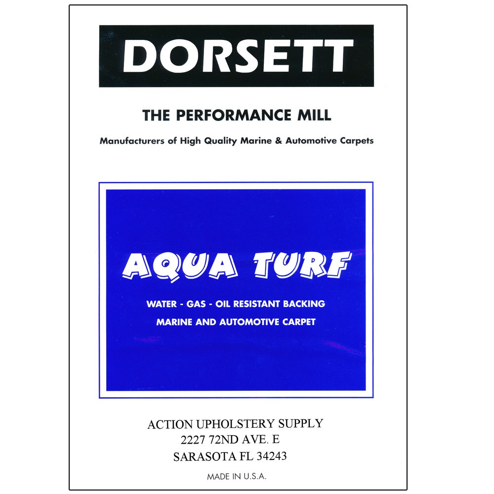 Aqua Turf By Dorsett Action Upholstery Supply