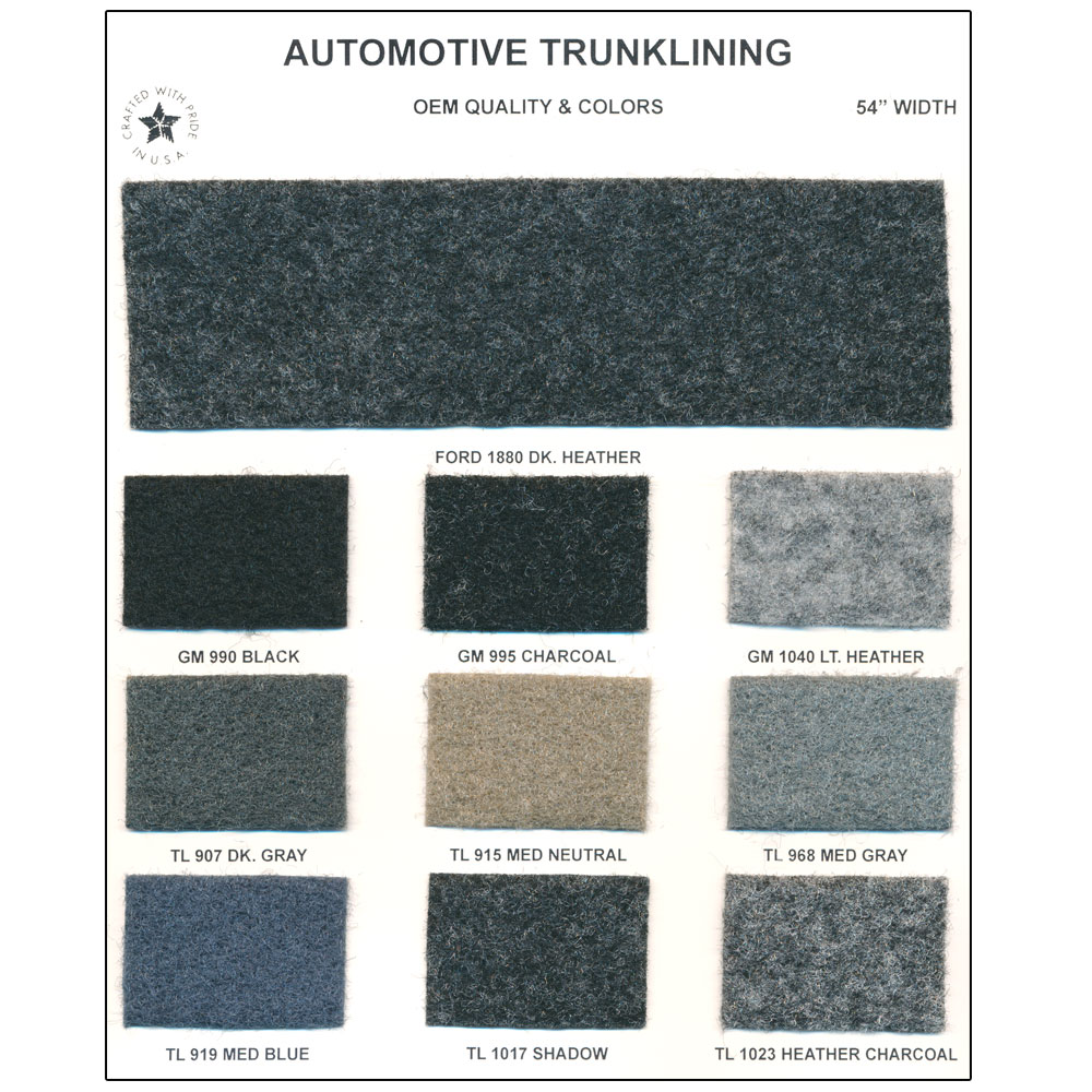 Automotive-Trunk-Lining