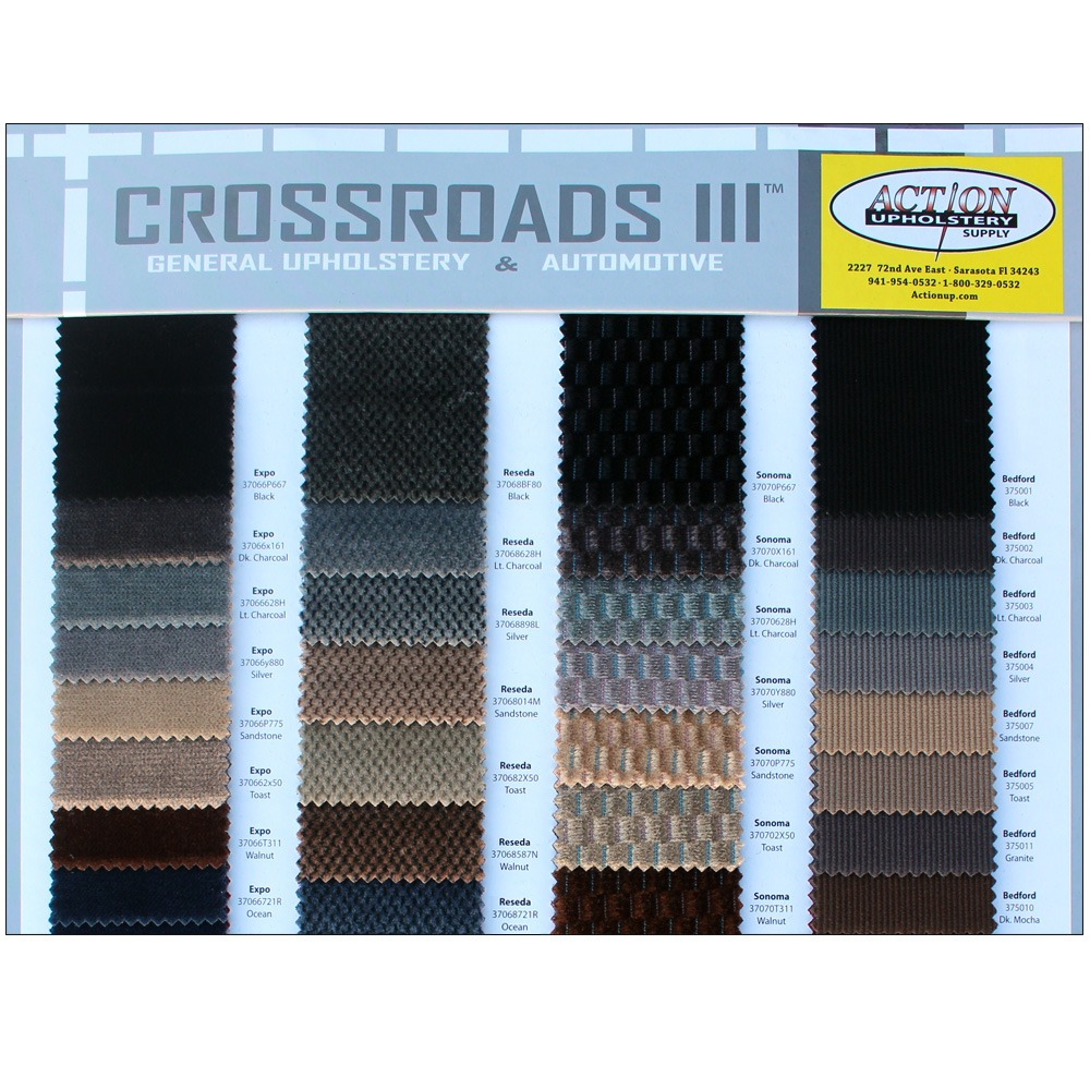 Crossroads Iii Action Upholstery Supply