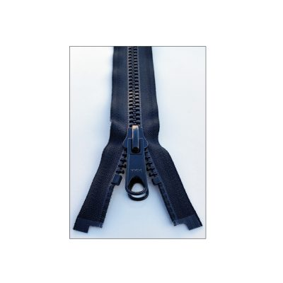 YKK Separating Nylon Zippers with Metal Double Pull