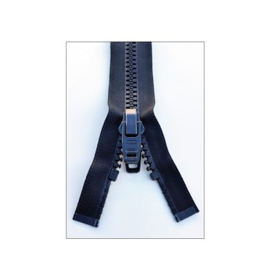 YKK Separating Nylon Zippers with Double Plastic Pull