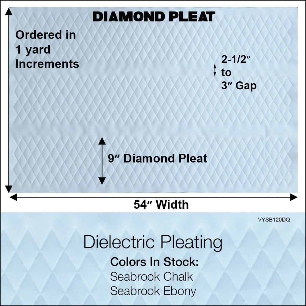 Diamond Pleat Specs